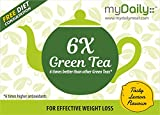 #3: 6 times Better Green Tea with 6 times Higher Antioxidants for Effective Weight Loss. myDaily 6X Green Tea (25 sachets)
