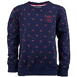 Paris Saint-Germain Sweatshirt mit Logo, offizielle Kollektion, Kindergröße, für Jungen für 4-Jährige blau