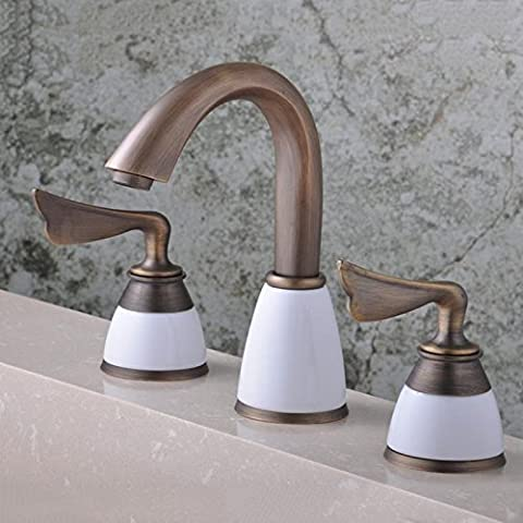 YLSZ-bathroom taps/Bathroom Sink Taps Hot and cold water European retro