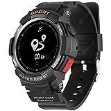 SYMTOP No.1 F6 Smartwatch Impermeabile, Nero