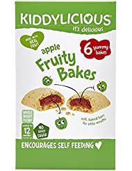 Kiddylicious Apple Fruity Bakes, 132 g