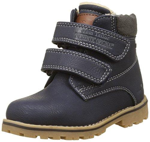 Tom Tailor Jungen 3770501 Stiefel, Blau (Navy), 28 (Stiefel Kind)
