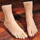 Echt Haut Sexpuppen Masturbation Voll Silikon Leben Größe Fälschung Füße Fuß Fetisch Spielzeug Sexy Spielzeuge Fuß Modell