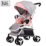 0-3 Years Old Baby Stroller Ultra Light Portable can sit Reclining Folding Trolley