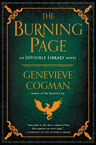 The Burning Page (Invisible Library) por Genevieve Cogman