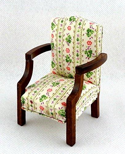 salon-maison-de-poupees-miniature-meuble-noyer-chintz-sheraton-fauteuil