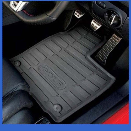 Hitech OEM Fully Tailored Premium Rubber Car Mats with Round Clips