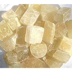 Edel-Depot Calcit gelb, geschnitten, 500 g. Rohsteine Minerale Wassersteine (1 kg = 17,80 EUR)