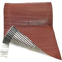 Duroflex adhesivos laterales color rojo 20X500 cm