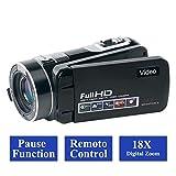 Videokamera Camcorder Full HD 1080p 24