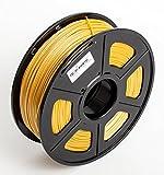 #6: Techie PLA Filament 1KG Roll (1.75mm Diameter) for 3D Printers(Gold)
