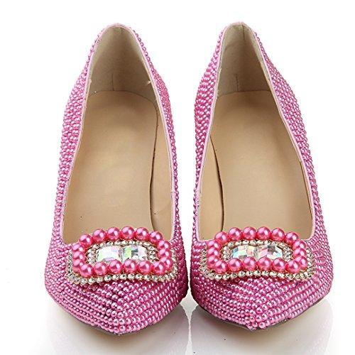 TDA - Sandali con Zeppa donna Pink