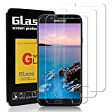 OneScreen [Pack de 3 Verre trempé Samsung Galaxy J7 2017, Protecteur écran Protecteur Film Protection pour Samsung Galaxy J7 2017, [Dureté 9H] [Crystal Clear] [Anti-Rayure] [sans Bulles d'air]