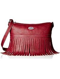 Fantosy Women's handbag (Maroon, FNB-507)