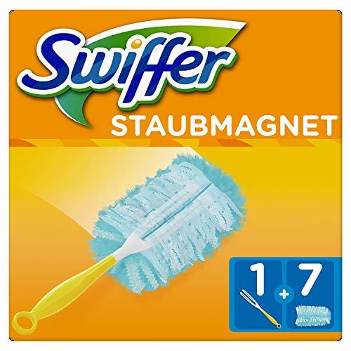 Swiffer Staubmagnet Set (1Griff und 7 Staubmagnet Tücher)