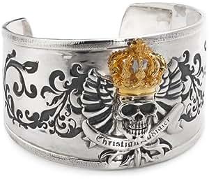Christian Audigier - CAC08 - B002 King Skull Bracelet - Bracelet Homme - Argent 925/1000