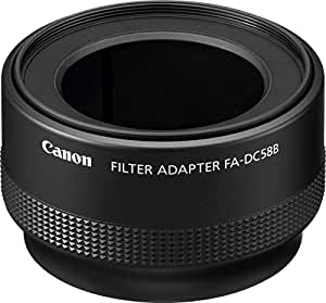 Canon Filter Adapter FA-DC58B For The PowerShot G12 Digital Camera