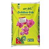 Kölle's Beste Orchideenerde 5 Liter – Spezialerde für Orchideen mit Spaghnum-Moos – Profisubstrat aus Pinienrinde, Kokoschips für Phalaenopsis – Gärtnerqualität
