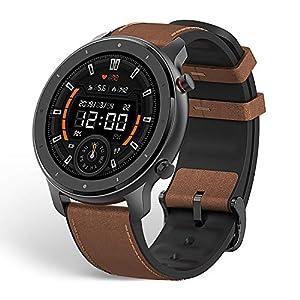 Huami Amazfit GTR 47mm Reloj Smartwatch Deportivo AMOLED de 1.39″,GPS + GLONASS,Frecuencia cardíaca Continua de 24 Horas, Larga duración de batería,12 Deportes Diferentes