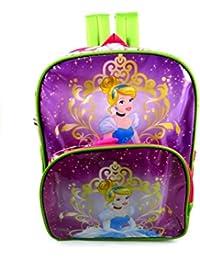 Disney Princess Waterproof School Bag Pink,green/multicolor Eh562