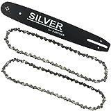 Schwert für Kettensäge Partner + 2 Stück Sägekette 35cm Kette 3/8