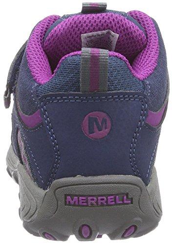 Merrell CHAMELEON A/C WT Mädchen Trekking & Wanderstiefel Blau (Navy/Purple) yRWKkRy