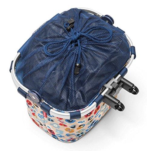 De Lux Bike Basket Plus kein Klickfix Millefleurs