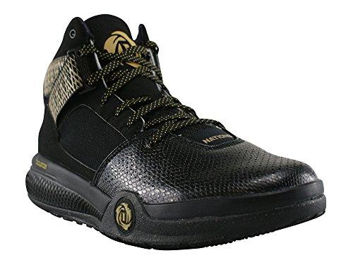adidas, Sneaker uomo Multicolore (Negro / Dorado / Blanco)