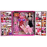 Sceva Girl's Doll with Dresses and Cool Accessories (Multicolour)