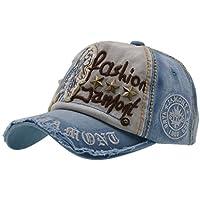 Gorra de Béisbol con Algodón - iParaAiluRy Unisex Sombrero para Hombre y Mujere - al Aire Libre Sombrero de Gorros de Sol para Primavera, Otoño, Invierno, Verano