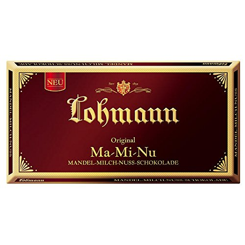 Lohmann- Mandel-Milch-Nuss-Schokolade - 10x100g - Milch-schokolade