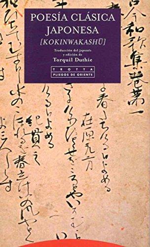 Poesía clásica japonesa [kokinwakashu] (Pliegos de Oriente)