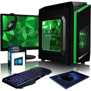 VIBOX FX-46 - Ordenador de sobremesa Gaming (USB, AMD, RAM ...