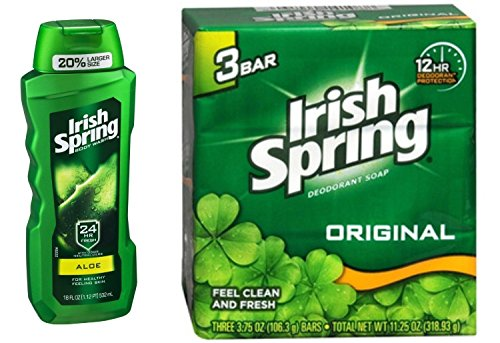 irish-spring-aloe-body-wash-532-ml-original-deodorant-soap-106-gm3-combo-pack-free-ayur-green-apple-