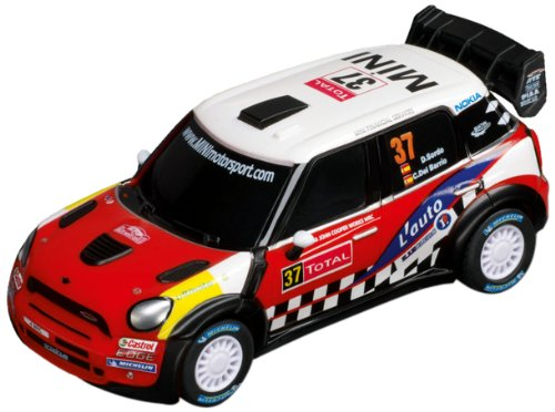 Carrera Go - 20061239 - Voiture Miniature et Circuit - Mini John Cooper Works WRC - No. 37
