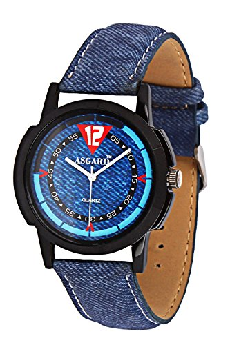 Asgard Analog Blue Dial Watch for Men- BB-04