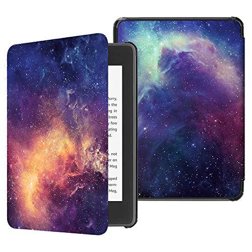 Fintie Hülle für Kindle Paperwhite (10. Generation - 2018) - Die dünnste und leichteste Schutzhülle Tasche mit Auto Sleep/Wake Funktion für Amazon Kindle Paperwhite eReader, Die Galaxie