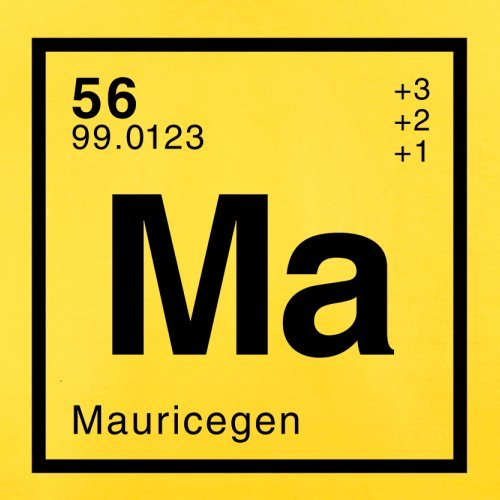 Maurice Periodensystem - Herren T-Shirt - 13 Farben Gelb