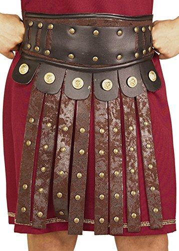 Römischer Soldat Armour Schürze mit Gürtel (Römische Rock Gladiator)
