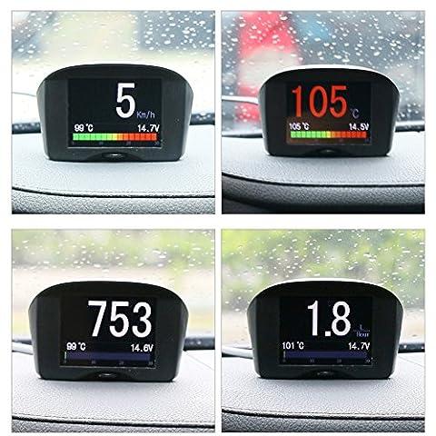 Autool Car OBD II Digital KPH / MPH Compteur de