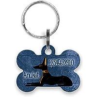 Hundehalsband Anhänger Hundeanhänger fürs Halsband mit Name Telefonnummer