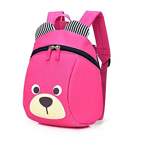 Imagen de dafenq linda bear bebé  infantil guarderia niños escuela  con seguridad riendas belt rosa roja  alternativa