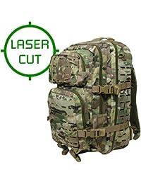 Mil-Tec US Asalto Paquete Grande Laser Cortar Multitarn