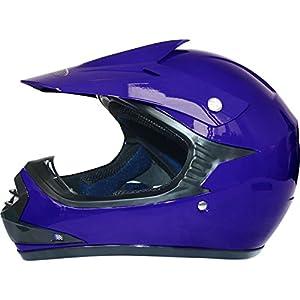 Leopard Kids Child Motocross Motorbike MX Helmet & Motocross Gloves by Touch Global Ltd