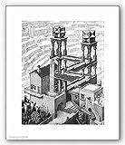 Waterfall Poster Print by M.C. Escher (22 x 26)