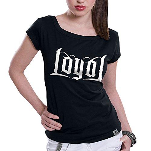 KONTRA K - Loyal - Black - GIRLIE - Shirt Black