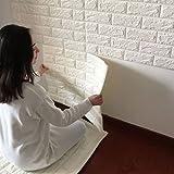 DODOING Fliesensticker Aufkleber Fliesenbild selbstklebend Tapete Design moderne 3D Optik für Wohnzimmer, Schlafzimmer oder Küche (1 Stück, Weiß)