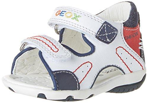 Geox  B Elba C,  Baby Jungen Lauflernschuhe für Babys , weiß - Blanc (C0899) - Größe: 21