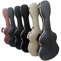 Estuche ABS para Guitarra Clásica, marca Cibeles (Crema)