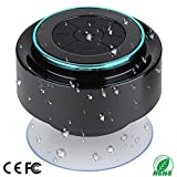 Altoparlante per doccia, altoparlante portatile completamente IPX7 Bluetooth con radio FM, altoparlante vivavoce. Ricaricabile usando micro USB, altoparlante perfetto per la spiaggia, la doccia